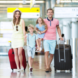 Familia aeroporto beep