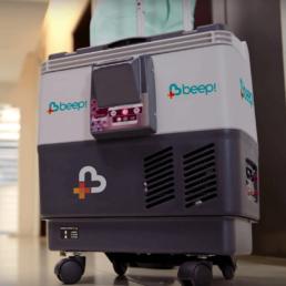 Imagem da câmara fria portátil - Página Inicial Beep