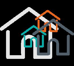 Ícone de casas visitadas
