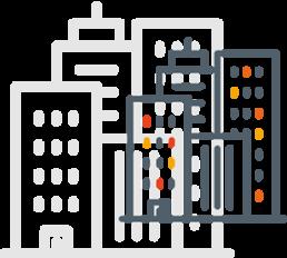 Ícone de cidades pelo Brasil