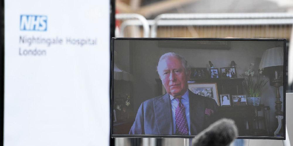 hospital Florence Nightingale é inaugurado por príncipe Charles