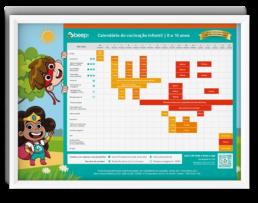 Calendário de vacinação infantil da beep saúde