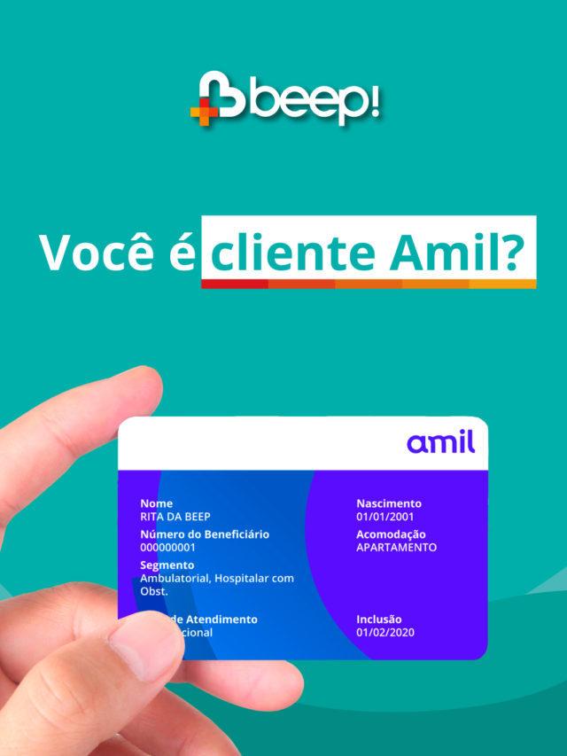 Você é cliente Amil?